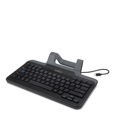 Wired Tablet Keyboard with Stand for Chrome OS™ (USB-C™ Connector) -$ HeroImage