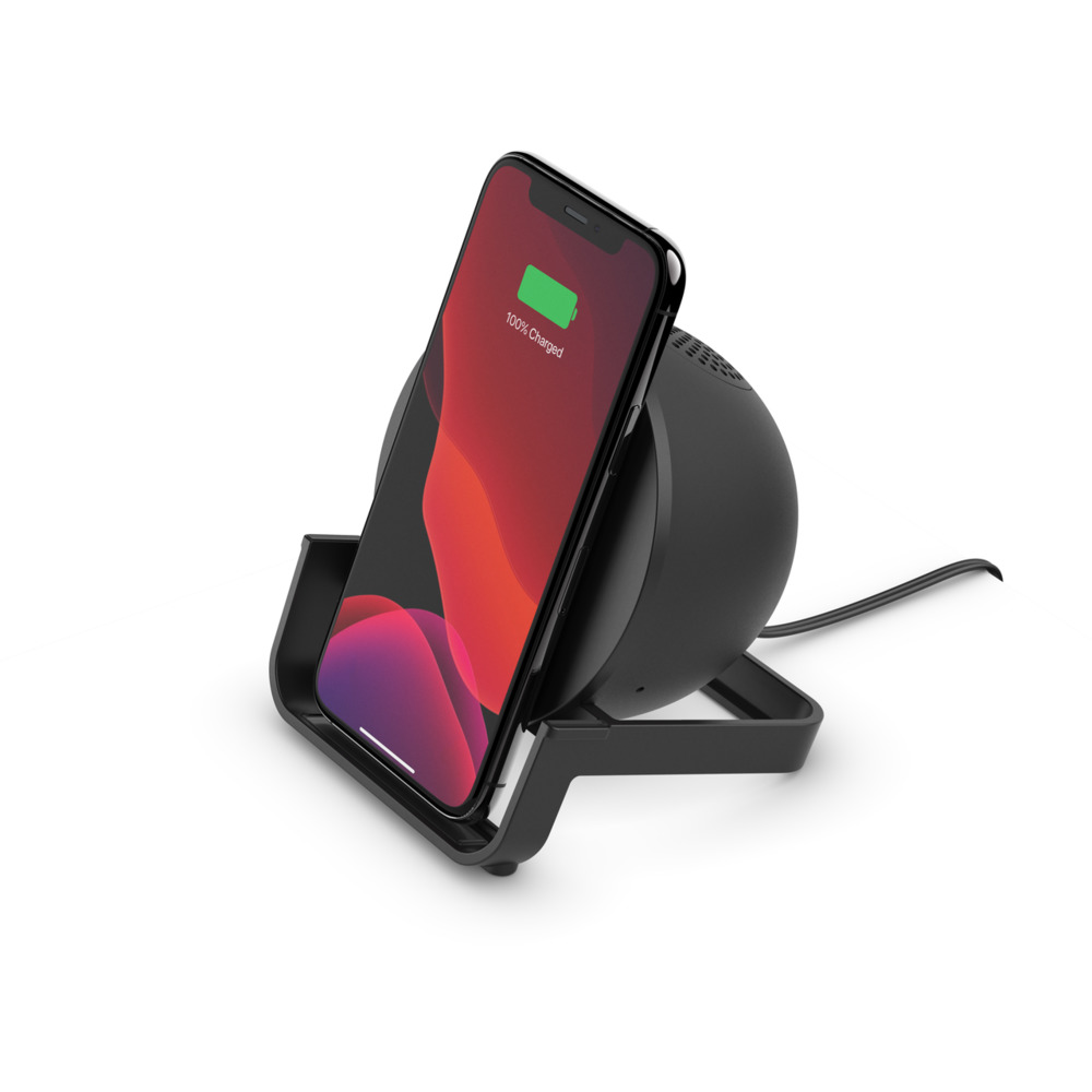 Chargeur à induction BOOST↑CHARGE™ Stand et enceinte - HeroImage