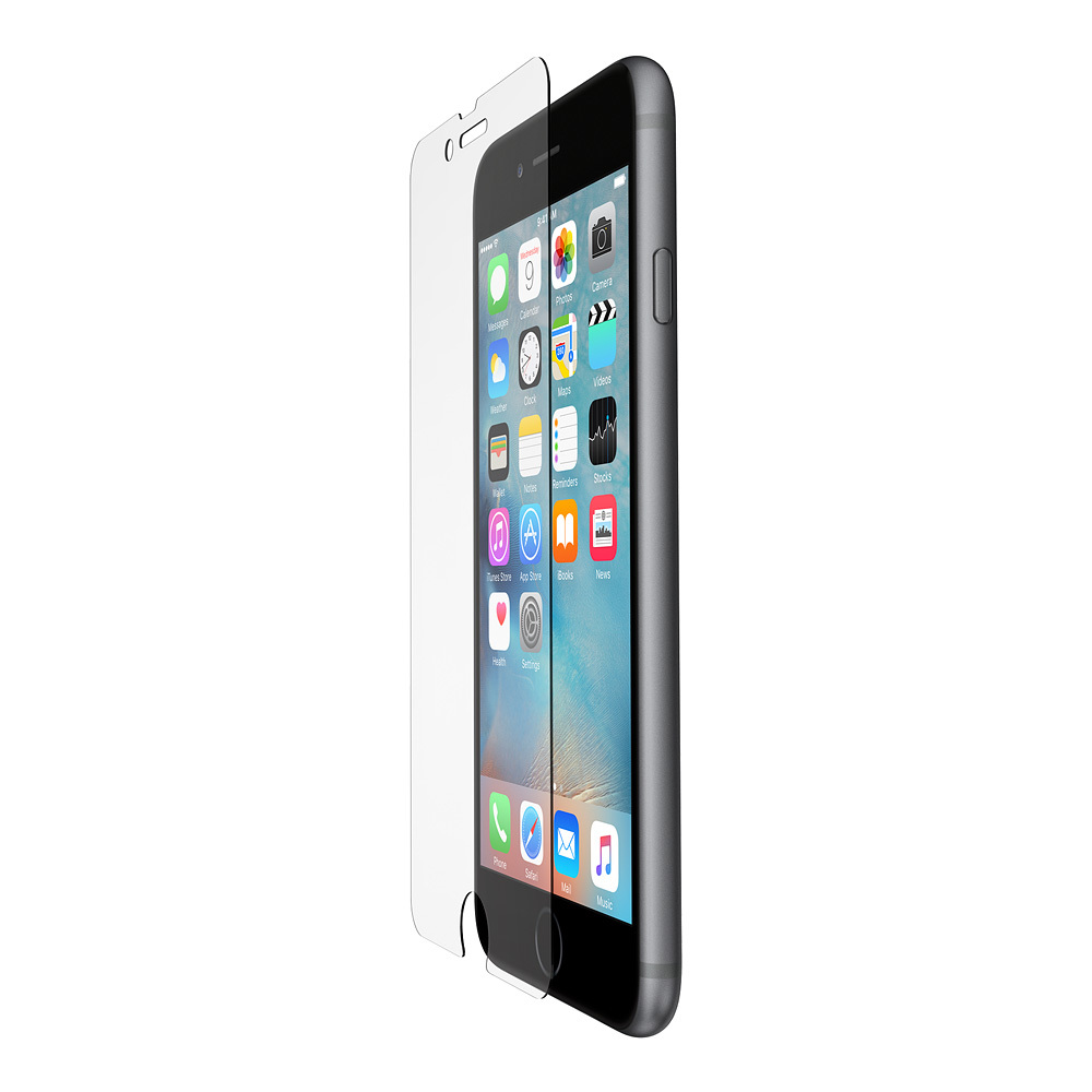 SCREENFORCE™ Protector de pantalla SCREENFORCE™ de cristal templado de Belkin para iPhone 6 y iPhone 6s Plus - HeroImage