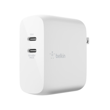 BOOST↑CHARGE™ Dual USB-C PD GaN Wall Charger 68W -$ HeroImage