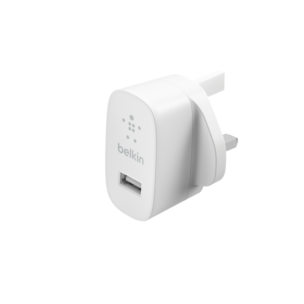 BOOST↑CHARGE™ USB-A Wall Charger + Lightning Cable  (12W) - HeroImage