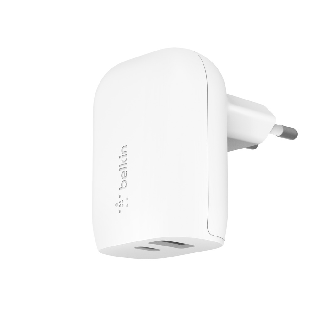 BOOST↑CHARGE™ Cargador de pared USB-C PD + USB-A de 30 W - HeroImage