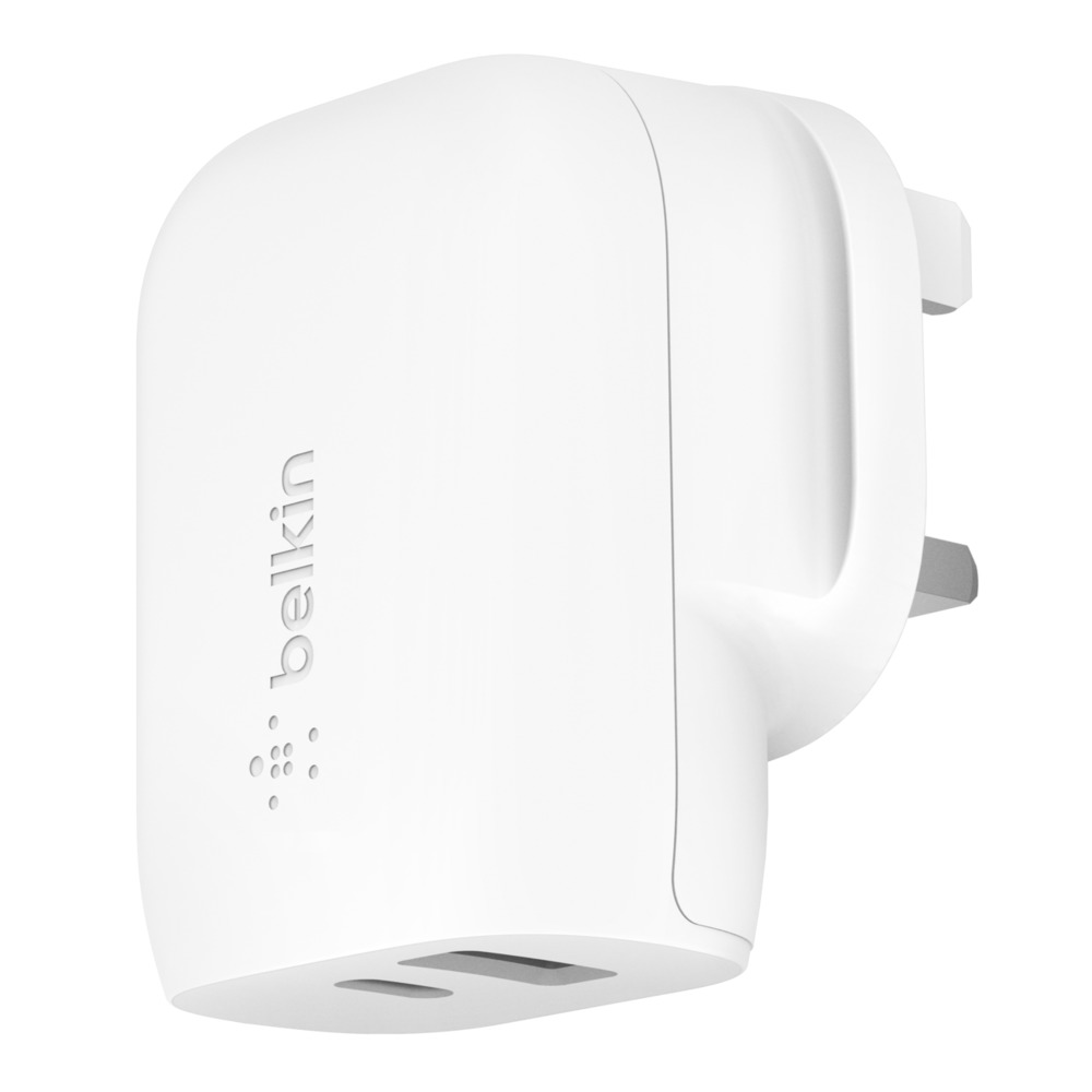 BOOST↑CHARGE™ 32W USB-C PD + USB-A Wall Charger - HeroImage