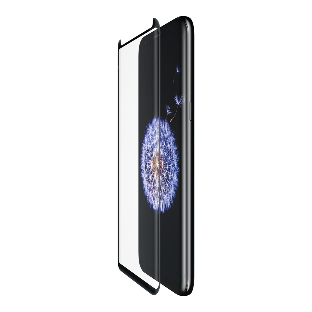 SCREENFORCE™ TemperedCurve Screen Protector for Samsung Galaxy S9 - HeroImage
