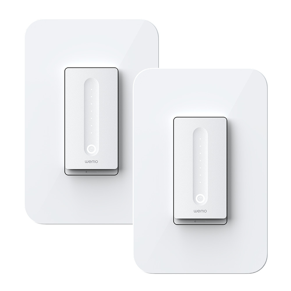 Wemo WiFi Smart Dimmer 2-Pack - HeroImage