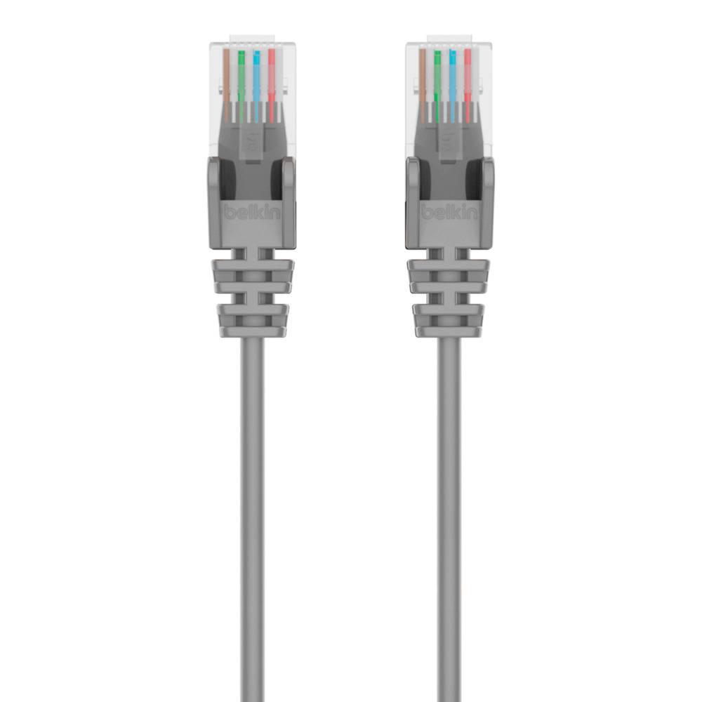 Networking Cables Gray 3 W//Oboots Cat 5E Ethernet Cables