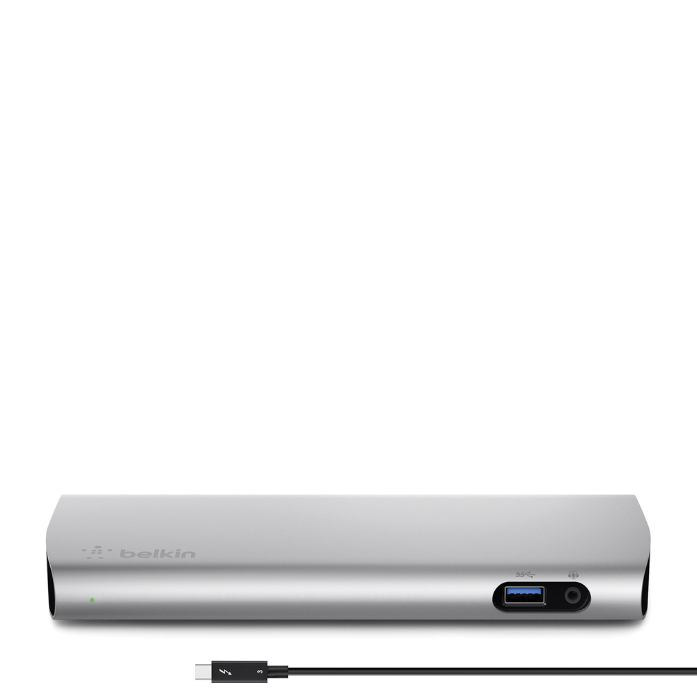 Thunderbolt™ 3 Express Dock HD with 3.3-ft /1-m Cable - HeroImage