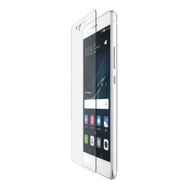 Protection d'écran en verre trempé ScreenForce® pour Huawei P9 Lite -$ HeroImage
