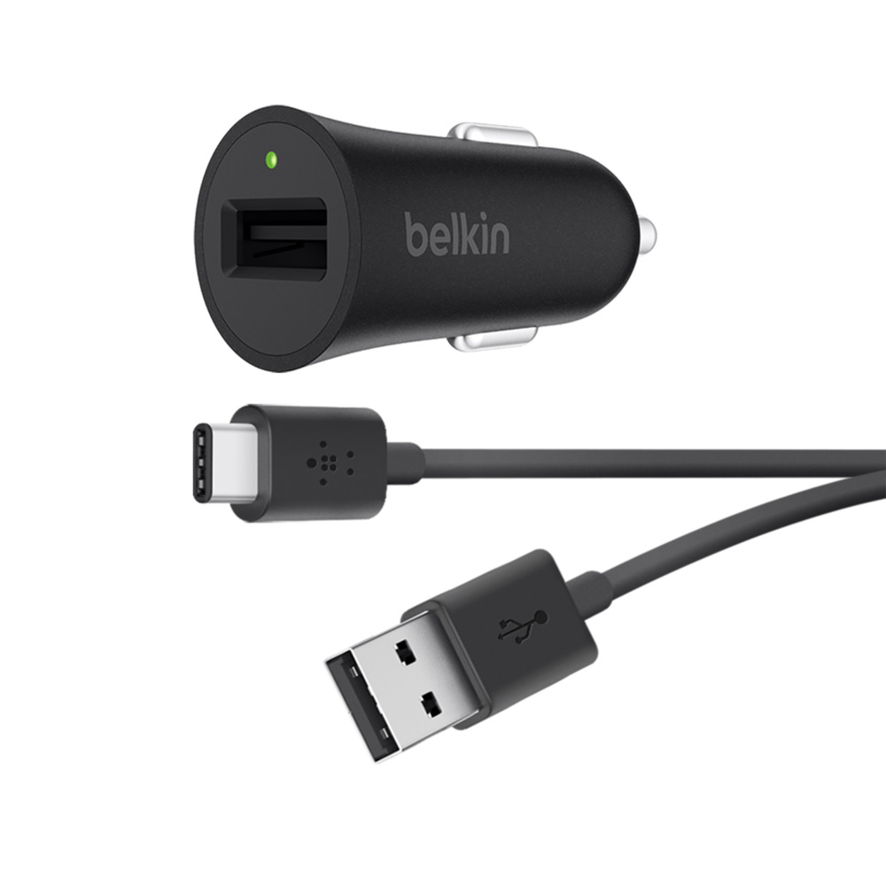 Caricabatteria da auto con cavo da USB-A a USB-C™ BOOST↑UP™ con Quick Charge 3.0 (USB Type-C™) - HeroImage
