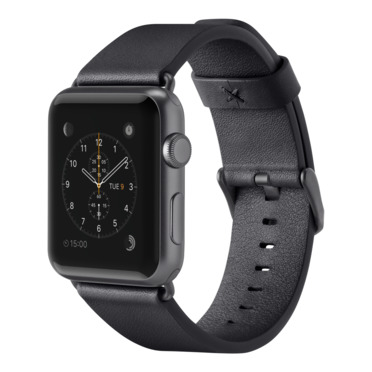 Correa clásica de piel para Apple Watch (38mm/40mm) -$ HeroImage