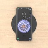 BOOST↑UP™ Wireless Charging Spot (Surface Installation) -$ SideView1Image