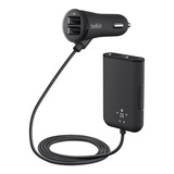 Road Rockstar: 4-Port Passenger Car Charger -$ HeroImage