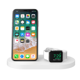 BOOST↑UP™ Wireless Charging Dock for iPhone + Apple Watch + USB-A port -$ FrontViewImage