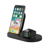 BOOST↑UP™ Wireless Charging Dock for iPhone + Apple Watch + USB-A port -$ HeroImage