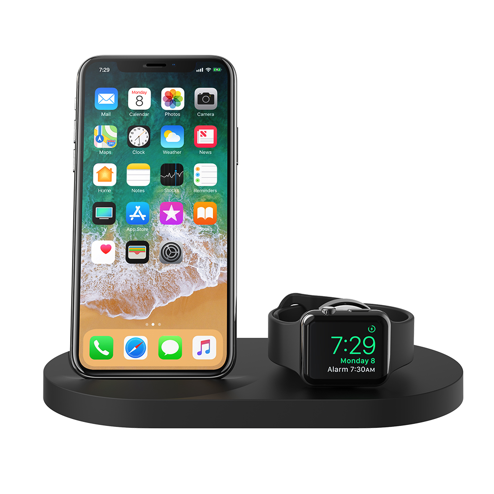 95c8a21a6ad ... Base de carga inalámbrica BOOST↑UP™ para iPhone + Apple Watch + puerto  USB ...