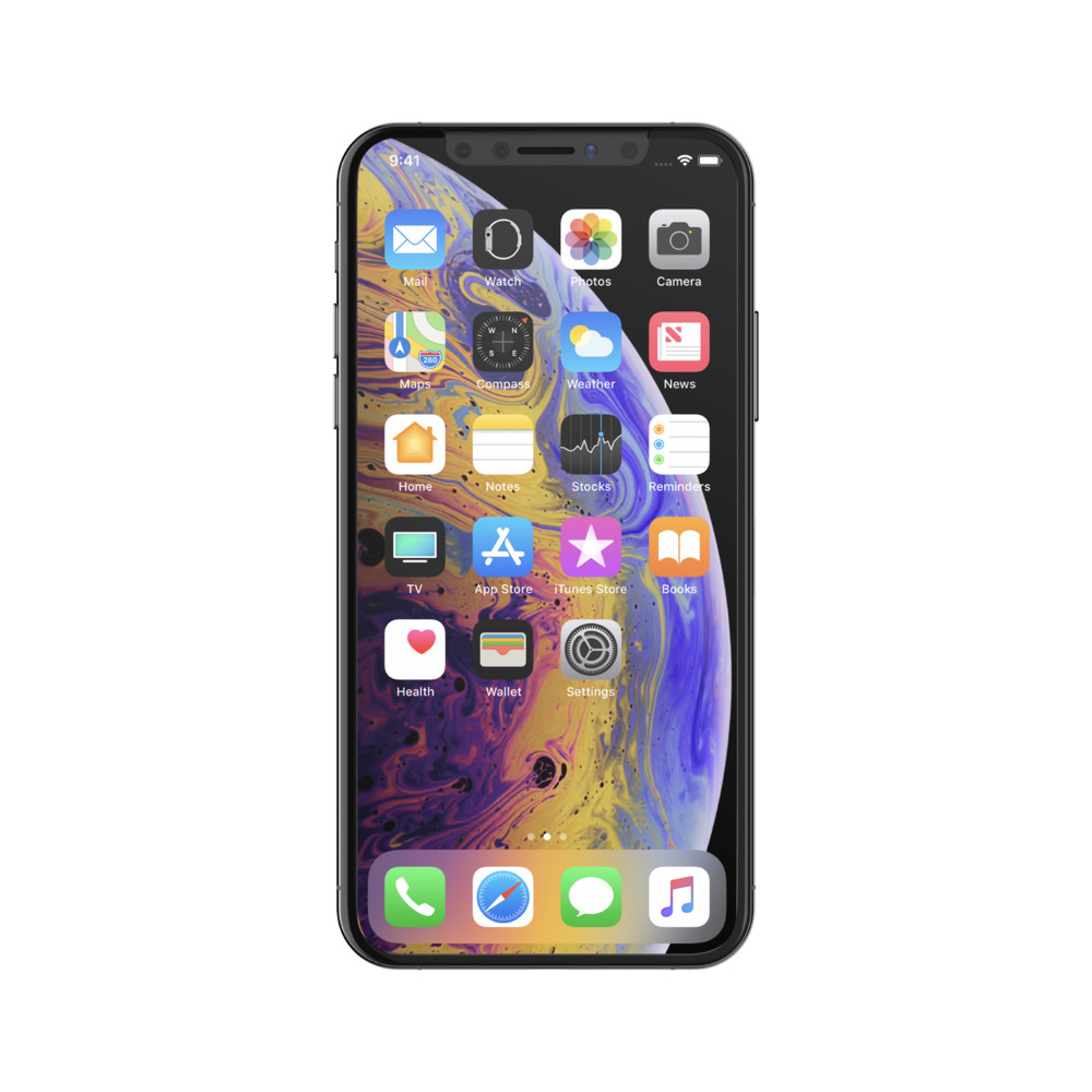 SCREENFORCE TemperedCurve Screen Protector for iPhone XS / X on