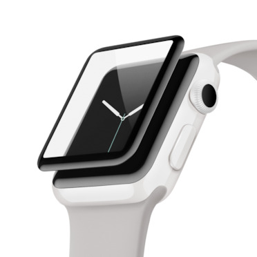 SCREENFORCE <sup>TM</sup> UltraCurve 스크린 보호필름(Apple Watch 시리즈 3/2, 38mm), 방수 -$ HeroImage