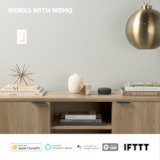 Wemo Smart Light Switch 3-Way -$ SideView1Image