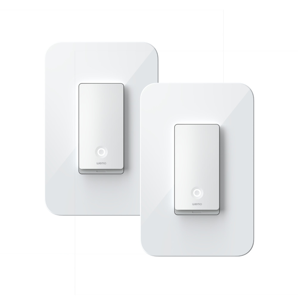 Smart Light Switch >> Wemo Smart Light Switch 3 Way 2 Pack