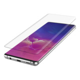 SCREENFORCE™ InvisiGlass Curve-screenprotector voor de Samsung Galaxy S10+ -$ FrontViewImage