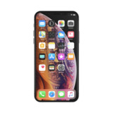 Proteggi schermo SCREENFORCE™ InvisiGlass™ Ultra Privacy per iPhone X/XS -$ SideView1Image