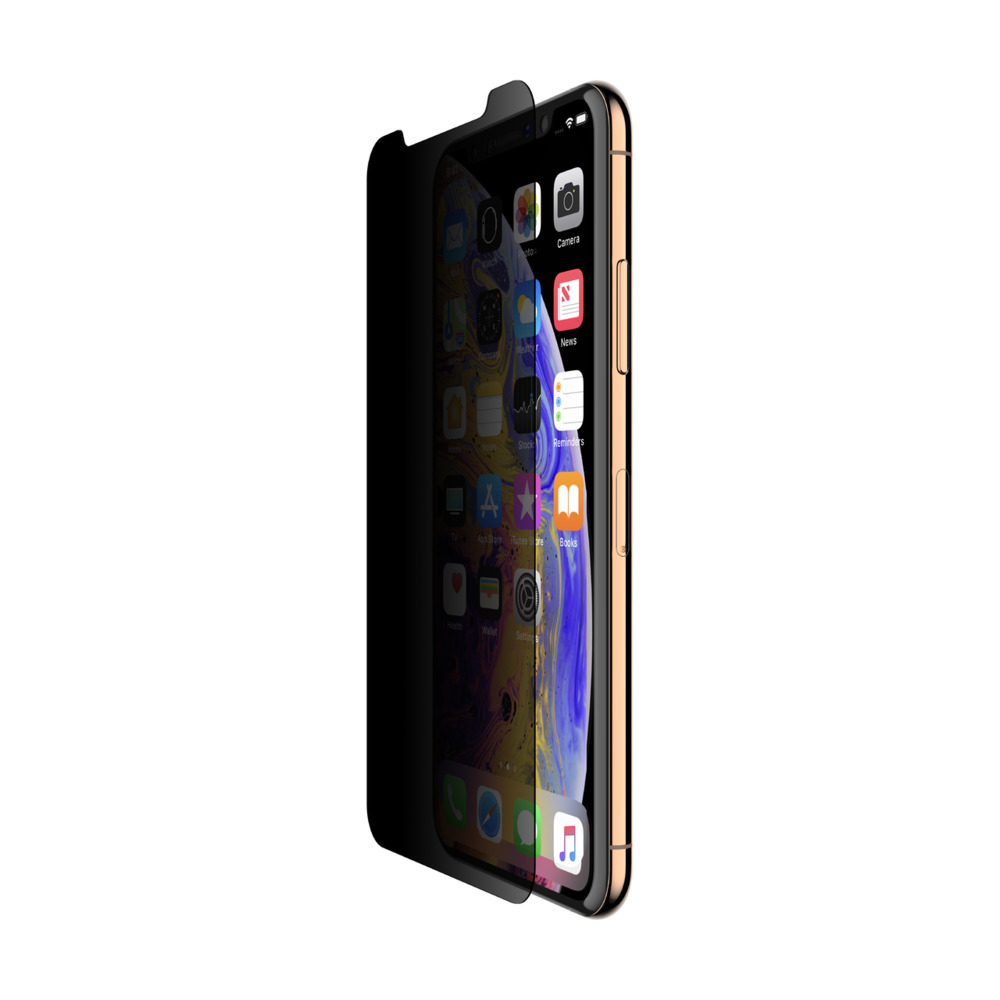 cheap for discount ce9b9 154c7 SCREENFORCE™ InvisiGlass™ Ultra Privacy Screen Protection for iPhone XS Max