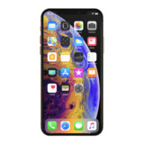 Protection d'écran SCREENFORCE™ InvisiGlass™ Ultra Privacy pour iPhone XS Max -$ SideView1Image