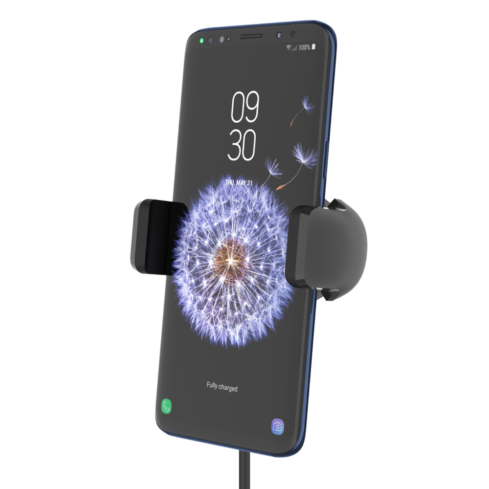 a607bc406cea9e ... Wireless Charging Vent Mount 10W – Wireless Car Charger -$  SideView1Image ...