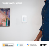 Wemo WiFi Smart Dimmer -$ SideView1Image