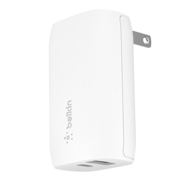 BOOST↑CHARGE 30W USB-C PD + USB-A Wall Charger -$ HeroImage