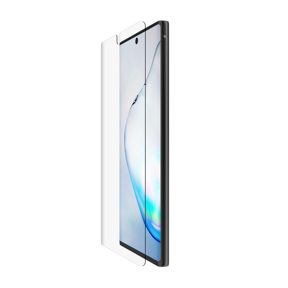 SCREENFORCE™ InvisiGlass Curve Screen Protector for Samsung Galaxy Note10 - HeroImage