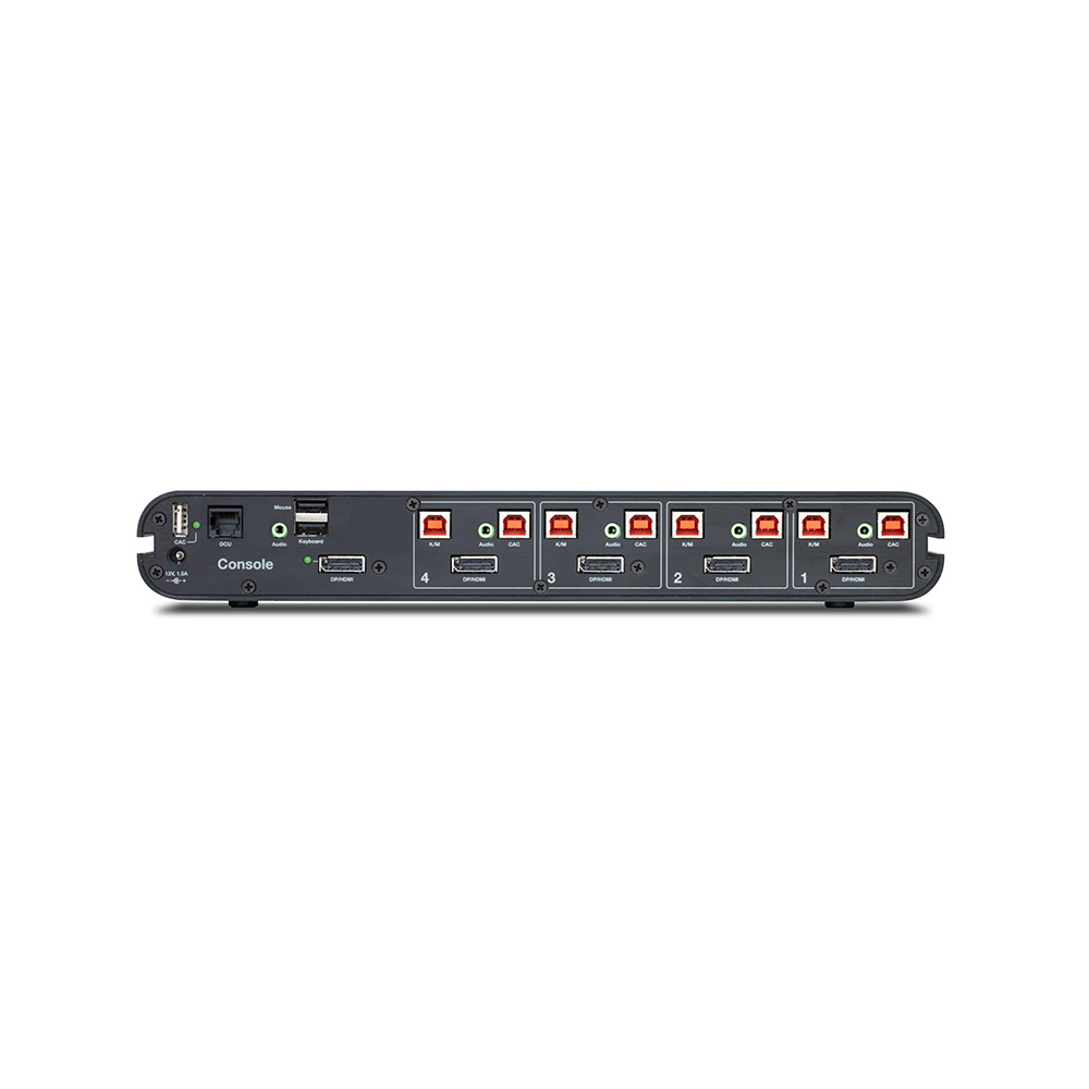 EAL4 Evaluation Assurance Belkin F1DN104KUK Advanced Secure 4 Port KM Switch with Audio