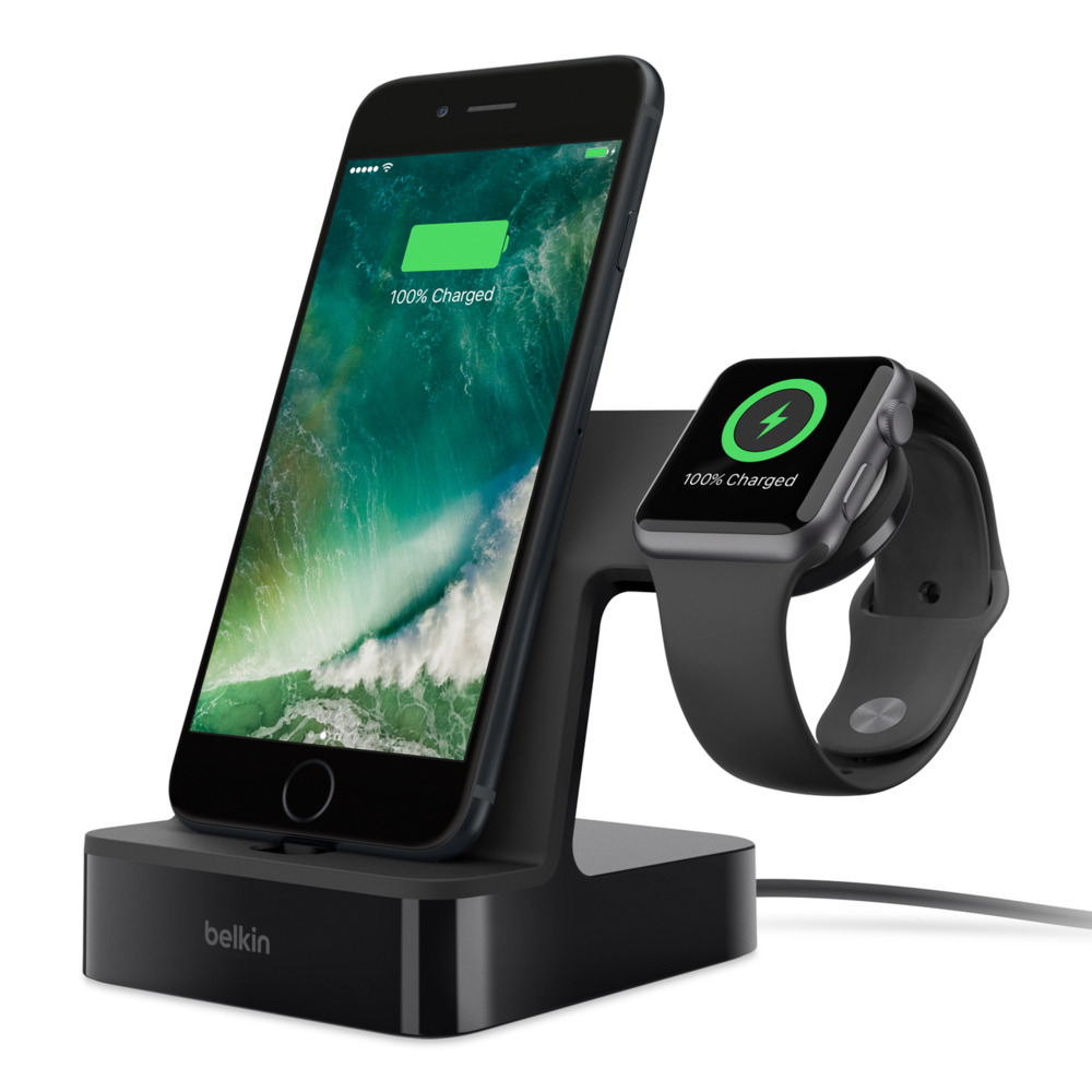 PowerHouse Charge Dock Apple Watch 與 iPhone 專用充電座 - HeroImage