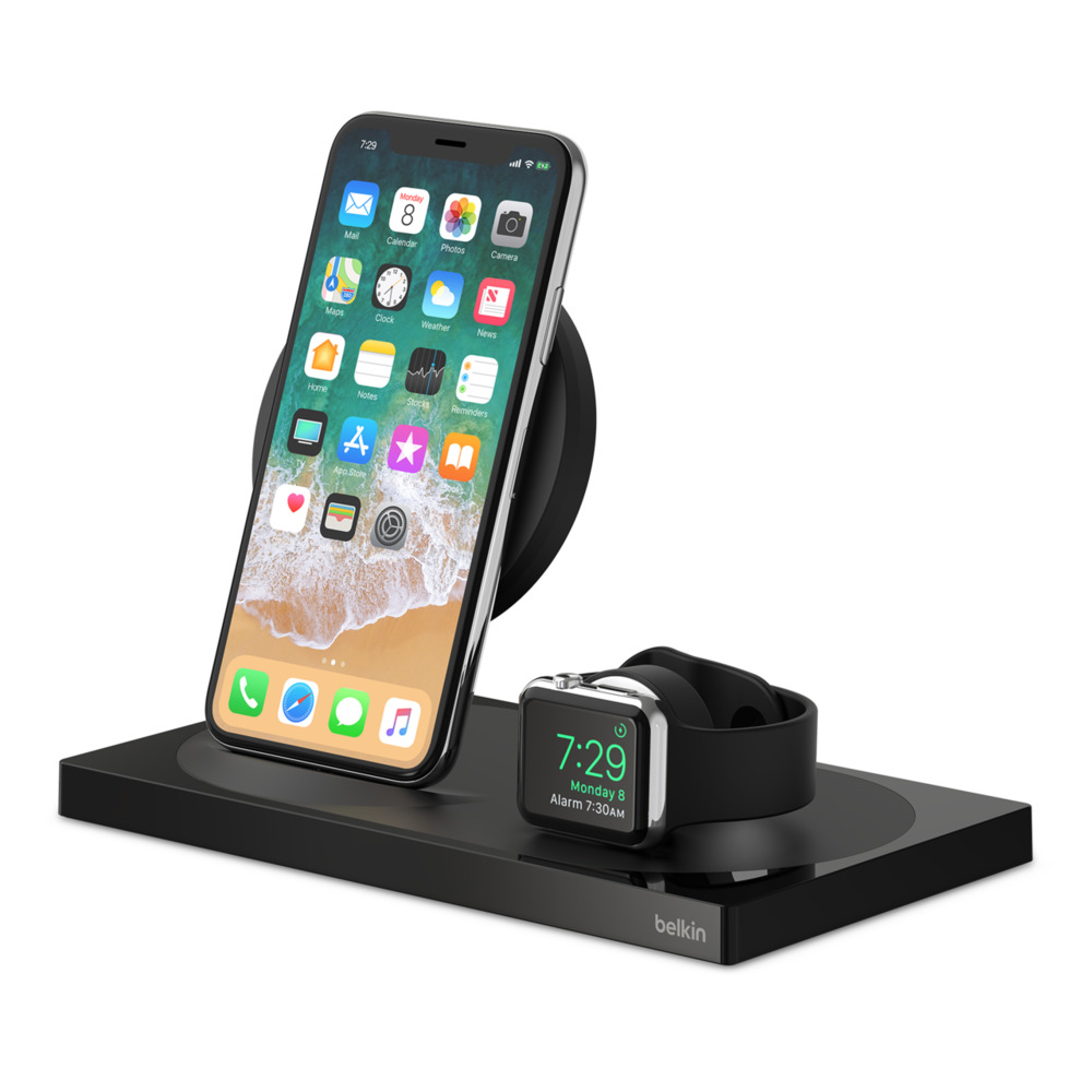 BOOST↑UP™ Special Edition Wireless Charging Dock for iPhone + Apple Watch + USB-A port - HeroImage
