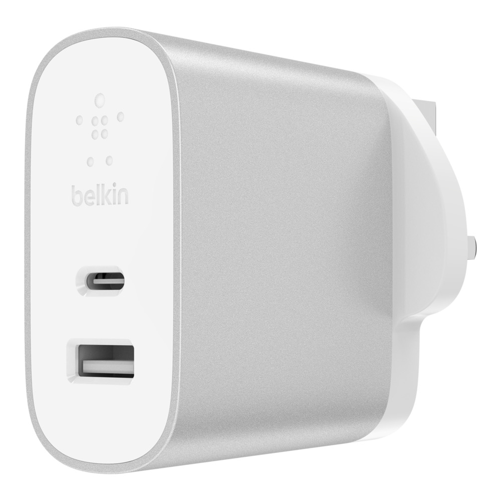 BOOST↑CHARGE™ 27W USB-C PD + 12W USB-A Wall Charger - HeroImage