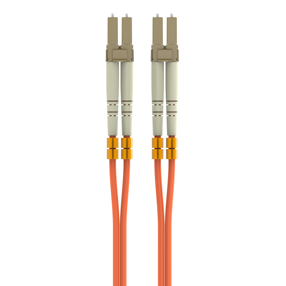 Multimode Duplex Fiber Patch Cable, LC-LC - HeroImage