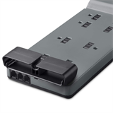 8-Outlet Home/Office Surge Protector with telephone protection, 6 ft. Cord -$ BackViewImage