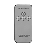 4-Way HDMI® Switch with Wireless Remote -$ TopViewImage