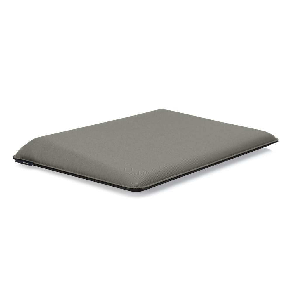 Laptop CushDesk Pitch Black / Soft Grey - BackViewImage