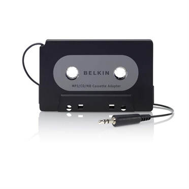 Cassette Adapter for MP3 Players -$ HeroImage