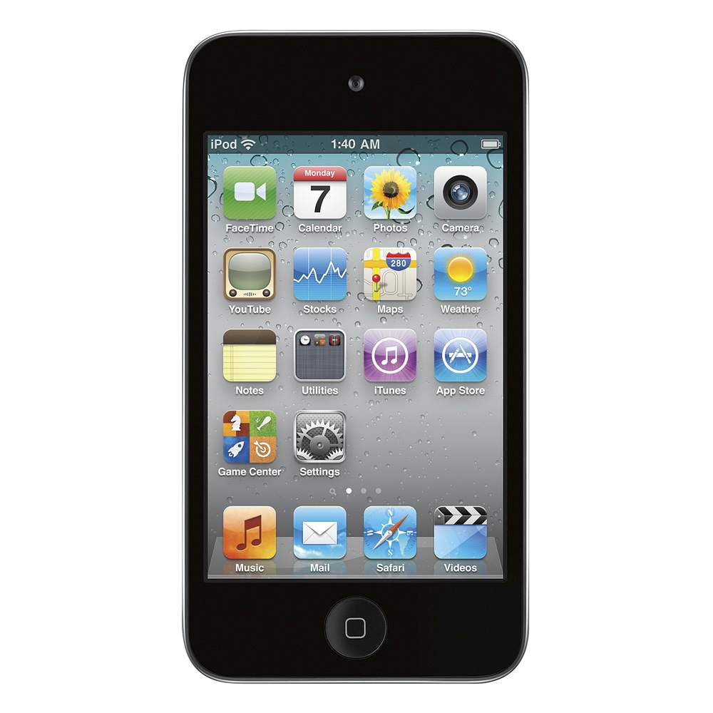 TrueClear Transparent Screen Protector for iPod Touch 4G - FrontViewImage
