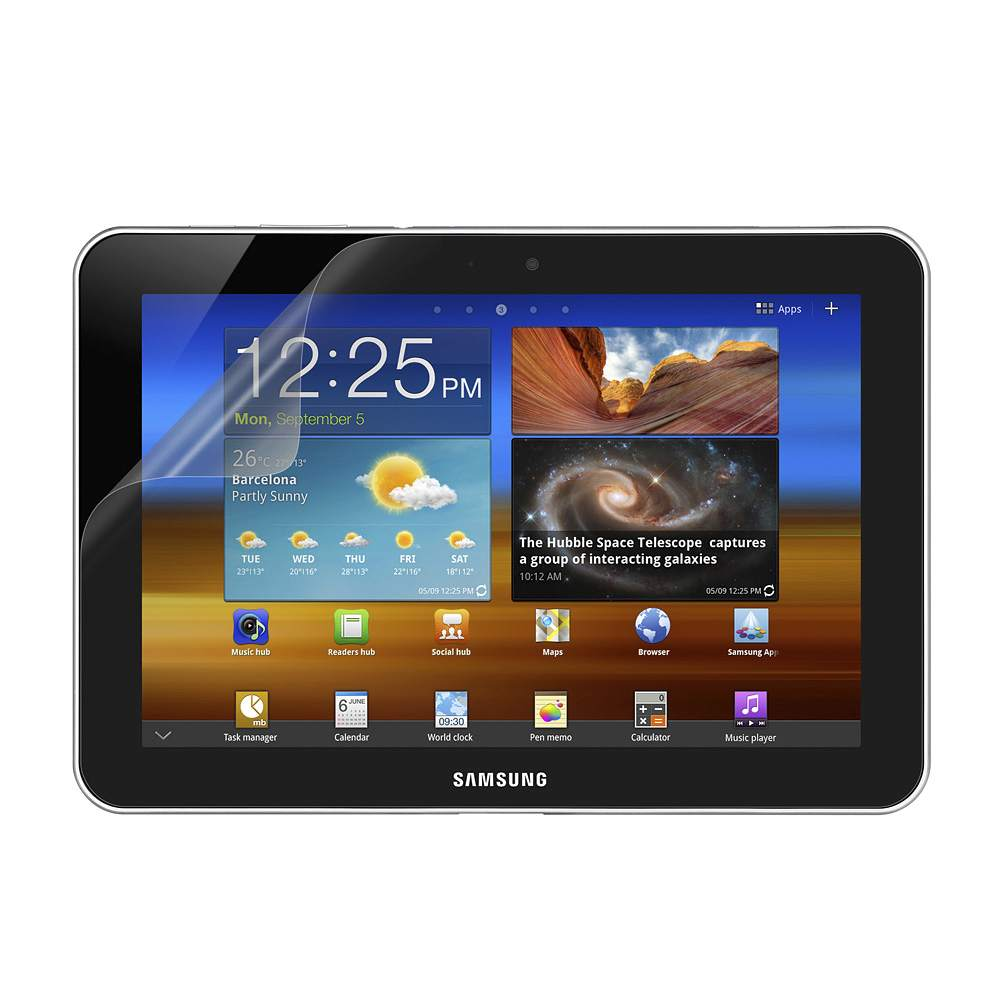 "TrueClear Anti-Smudge Screen Protector for Samsung Galaxy Tab 2 8.9"" - HeroImage"