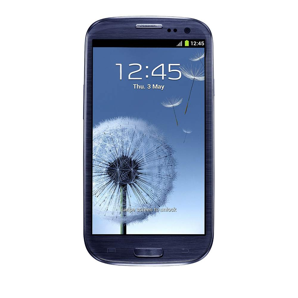 TrueClear Transparent Screen Protector for Samsung Galaxy S3 - FrontViewImage