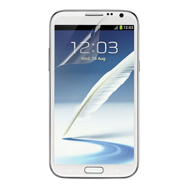 TrueClear Transparent Screen Protector for Samsung Galaxy Note II -$ HeroImage