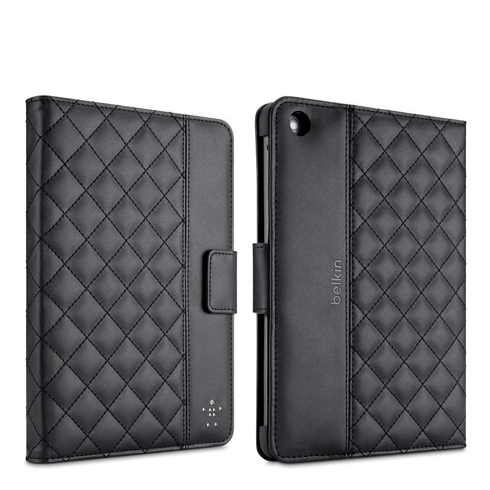 Quilted Cover with Stand for iPad mini and iPad mini with Retina display - BackViewImage
