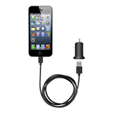 Car Charger + Lightning ChargeSync Cable iPhone 5 專用 -$ FrontViewImage