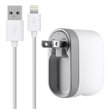 Swivel Charger + Lightning ChargeSync Cable (10 Watt/2.1 Amp) -$ SideView1Image