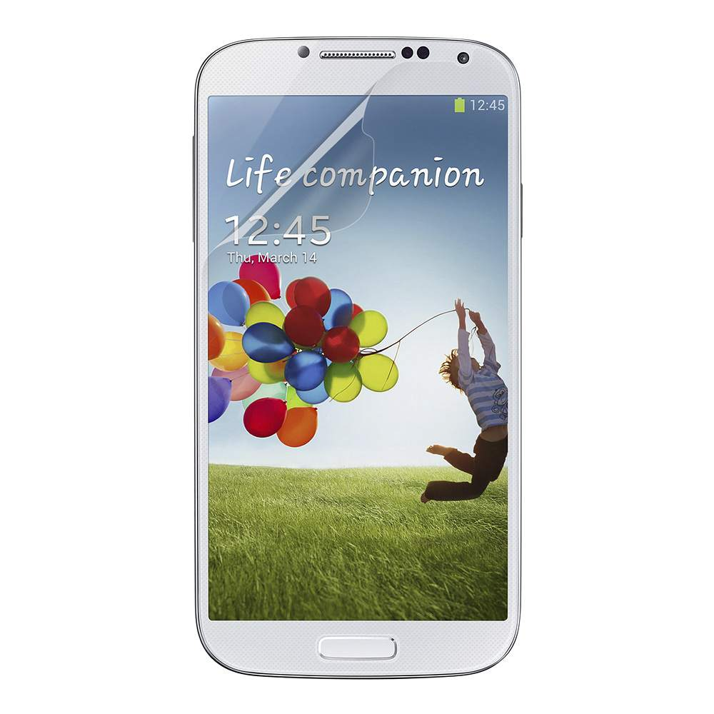 TrueClear High Definition Screen Protector for Galaxy S4 - HeroImage