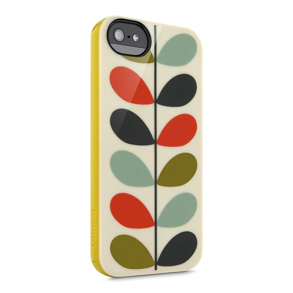 Orla Kiely iPhone 5 and iPhone 5s Case - SideView1Image