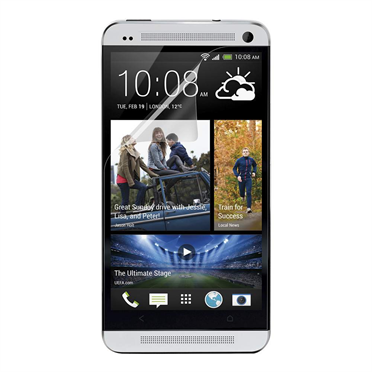 TrueClear Transparent Screen Protector for HTC One -$ HeroImage